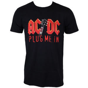 LOW FREQUENCY AC-DC Plug me in with Angus Young Čierna XXL