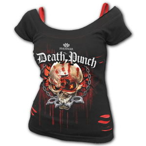 tričko metal SPIRAL Five Finger Death Punch Five Finger Death Punch Čierna XL