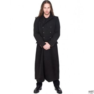 kabát BLACK PISTOL Army Coat Wool L