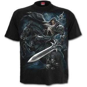 tričko SPIRAL Grim Rider Čierna S