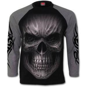 SPIRAL Death Rage Čierna sivá M