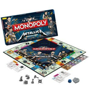 hra Metallica - Rock Band Monopoly - WM-MONO-METAL LICA