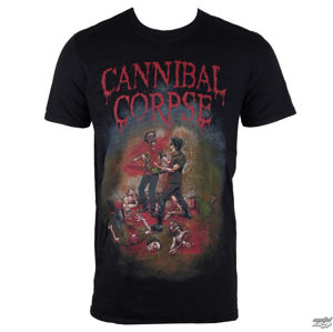 tričko metal PLASTIC HEAD Cannibal Corpse Chainsaw Čierna S