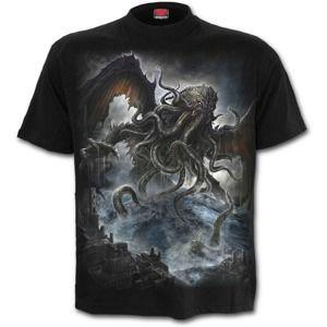 tričko SPIRAL Cthulhu Čierna L