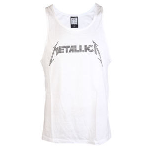tielko pánske METALLICA - LOGO WHITE - AMPLIFIED - AV319MLB L