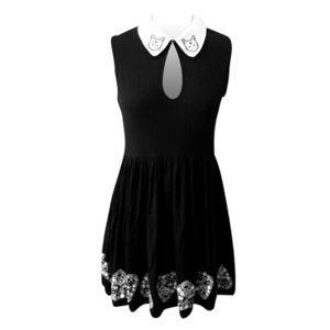 šaty dámske BANNED - DR5191R/BLK L