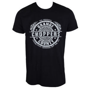 ORANGE COUNTY CHOPPERS Circle Stamp Čierna