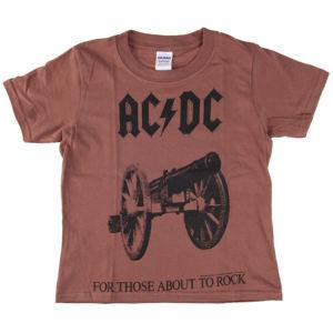 LOW FREQUENCY AC-DC For Those About To Rock Čierna červená