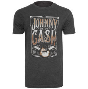 tričko metal NNM Johnny Cash Man In Black Čierna XL