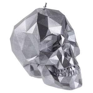 sviečka Skull - Steel - YO021