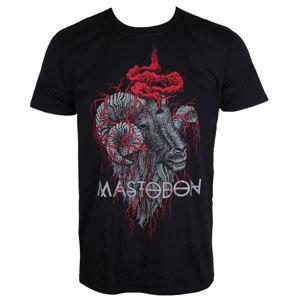 ROCK OFF Mastodon Rams Head Čierna XXL