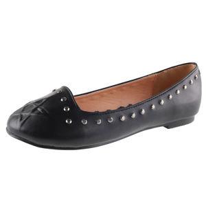 topánky dámske (balerínky) BANNED - BND229BLK 40