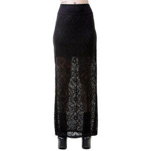sukňa dámska KILLSTAR - ANGELINA - BLACK - KSRA00141 XL