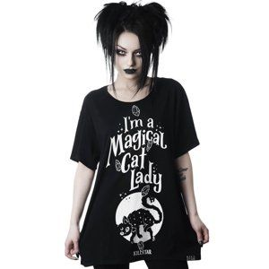 KILLSTAR Cat Lady Čierna