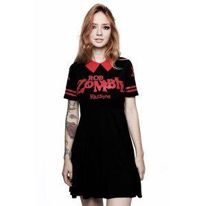 šaty dámske KILLSTAR - ROB ZOMBIE - Dead City - BLACK - KSRA000700 S