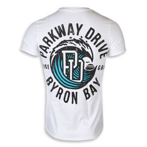 KINGS ROAD Parkway Drive Wave Čierna XL