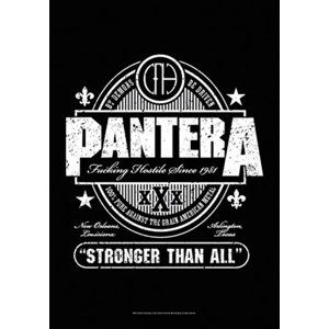 HEART ROCK Pantera Beer Label