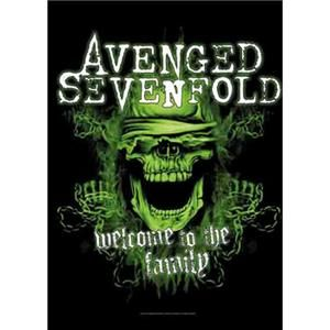 vlajka Avenged Sevenfold - Welcome to the Family - HFL1165