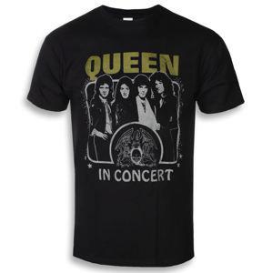 tričko pánske Queen - In Concert - ROCK OFF - QUTS30MB