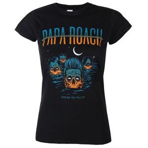 Tričko metal KINGS ROAD Papa Roach Drowning WDYT Čierna