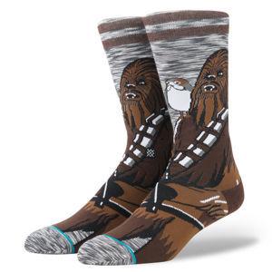 ponožky STAR WARS - CHEWIE PAL - GREY - STANCE - M545D17CHW-GRY
