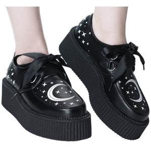 topánky s klinom - Moonbeam - KILLSTAR - KSRA001137 36