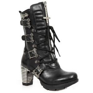 topánky na podpätku NEW ROCK ITALI NEGRO viacfarebná 40