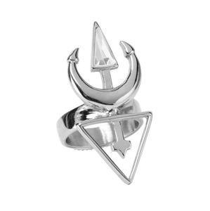 prsteň KILLSTAR - Neptune - SILVER - KSRA000757 5