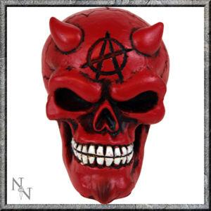 dekorácia - hlavica radiacou páky - Red Devil Gear Knob - U0482B4