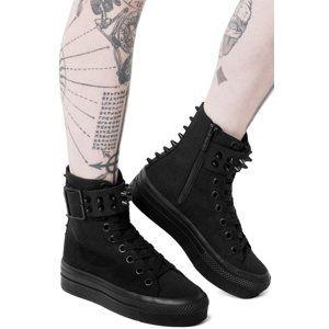 topánky s klinom dámske - UNHOLY - KILLSTAR - KSRA000005 41