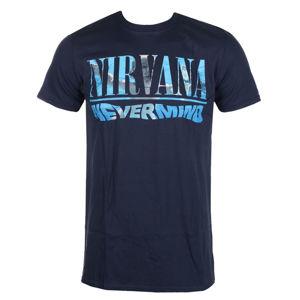 Tričko metal ROCK OF Nirvana Nevermind Čierna S
