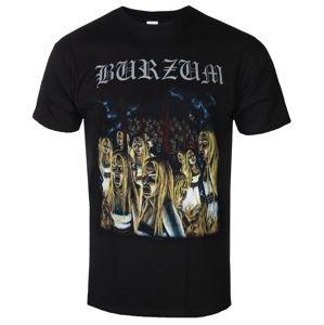 tričko metal PLASTIC HEAD Burzum BURNING WITCHES Čierna L