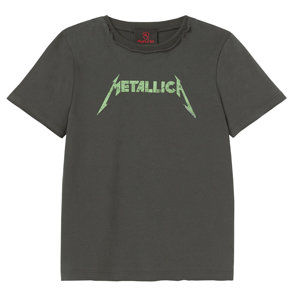 AMPLIFIED Metallica Logo Čierna