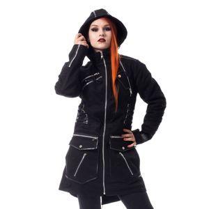 kabát dámsky Vixxsin - ARCH PARKA - BLACK - POI731
