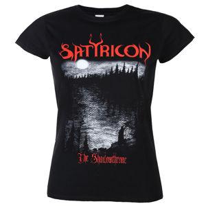 tričko metal NNM Satyricon Shadowthrone Čierna XL
