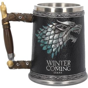 hrnček (korbel) Hra o trůny - Winter is Coming - B3697J7