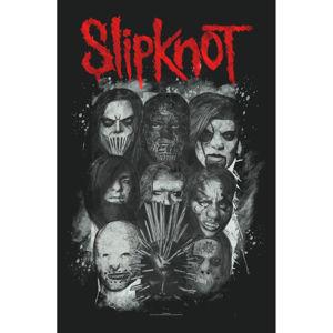 vlajka Slipknot - Masks - RAZAMATAZ - TP223