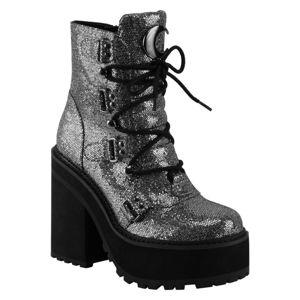 topánky s klinom KILLSTAR Broom Rider Boots 38