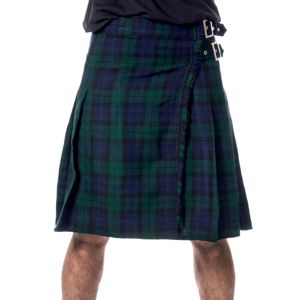 kilt pánsky Poizen Industries - CHOR - GREEN CHECK - POI828 S