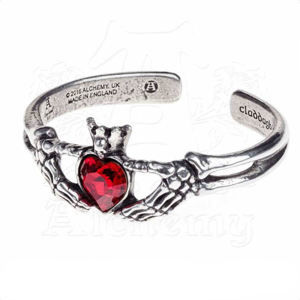 náramok ALCHEMY GOTHIC - Claddagh By Night - A114