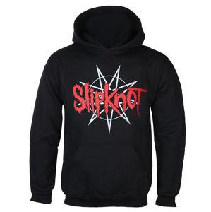 mikina s kapucňou BRAVADO Slipknot STAR CREST Čierna XXL