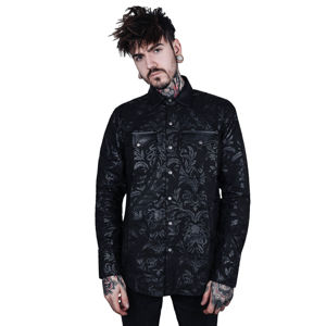 Košele KILLSTAR Dark Ocean Button XXL