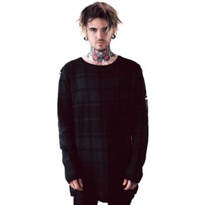 sveter unisex KILLSTAR - Darklands - TARTAN - KSRA001149 XL