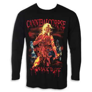 Tričko metal PLASTIC HEAD Cannibal Corpse EATEN BACK TO LIFE Čierna XL