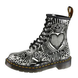 topánky kožené unisex - 8 dírkové - Dr. Martens - DM23507112 46
