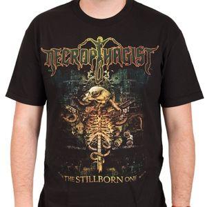 tričko metal INDIEMERCH Necrophagist The Stillborn One Čierna XXL