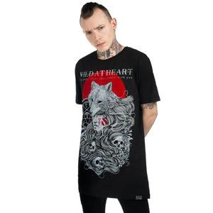 tričko KILLSTAR Wild At Heart Čierna S
