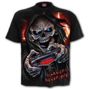 tričko SPIRAL RESPAWN Čierna L