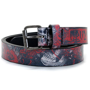 opasok s kov HYRAW SKULL AND ROSES S/M