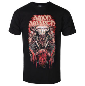 tričko metal PLASTIC HEAD Amon Amarth FIGHT Čierna 3XL
